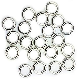 纯银圆形跳环 16 号 7.0mm Craft Wire