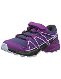 SALOMON 中性款儿童 Speedcross Bungee K 越野跑鞋
