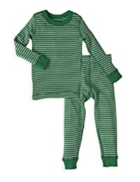 Skylar Luna Holiday Pajamas Set- 100% Organic Turkish Cotton- Unisex Long Sleeve