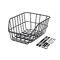 Büchel Jumbo 40502310 中性成人 School Bag Basket 铝 黑色