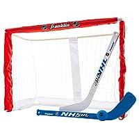 Franklin Sports 迷你曲棍球球球目标套装 - NHL - 26 英寸 - Fold-N-Go