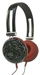 Marc Ecko Unltd EKU-IMP-GRF Impact Over-the-Ear Headphones (Graffiti Red)