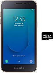 "Samsung Galaxy J2 Core 2018 (16GB) 5.0"",Android 8.0,GSM 工厂未锁,美国+全球 4G LTE - 国际版 J260M/DS 16GB + 64GB SD B"