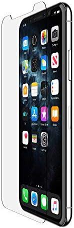 Belkin ScreenForce InvisiGlass Ultra 屏幕保护膜,适用于 iPhone 11 Pro Max(iPhone 11 Pro Max屏幕保护膜,iPhone 11 屏幕保护膜)