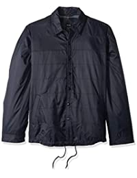 Dickies 男士现代修身尼龙衬衫夹克,