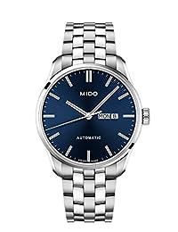 Mido Belluna II 自动蓝色表盘男式手表 M024.630.11.041.00