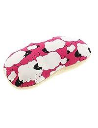 aile 颈枕 约35×22厘米 柔软 拉瓦靠垫 粉色 約35×22cm ひつじ