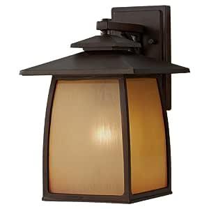 Feiss OL8502SBR One Light Outdoor Lantern