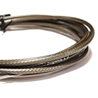 Jagwire HyFlow Disc Hose Carbon Silver, 3000mm Requires Jagwire HyFlow Quick-Fit Kit