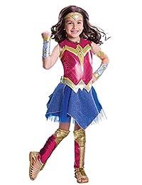 蝙蝠侠大战超人:正义黎明》–DELUXE 神奇女侠服装儿童