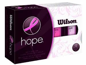 Wilson Hope,12球,女子高尔夫球(粉色/亮粉色)