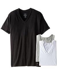 Calvin Klein 卡尔文·克莱恩 男式 经典棉质短袖V领T恤