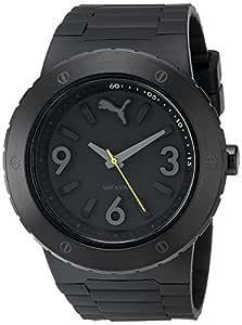 PUMA 彪马 Men's Analog Watch 黑色