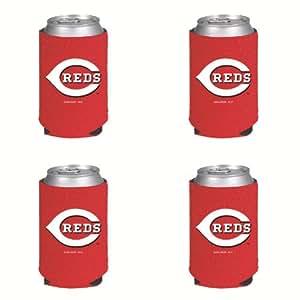 MLB Cincinnati Reds Can Koozie 4 pack
