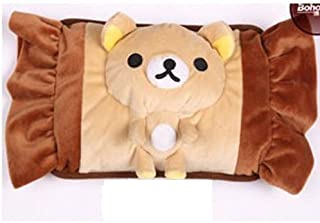 红兔子 卡通毛绒防爆充电热水袋暖手宝创意 暖水袋电暖宝暖手袋暖宝宝 暖手宝 暖脚宝 Q5109糖果熊