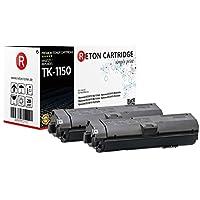 2 原装 Reton 兼容墨盒   50% 更高的打印性能   替代 TK -1150 用于 Kyocera ECOSYS M2135dn, M2635dn, M2735dnn, P2235dn, P2235dw   根据ISO标准19752 测试   4.500 页