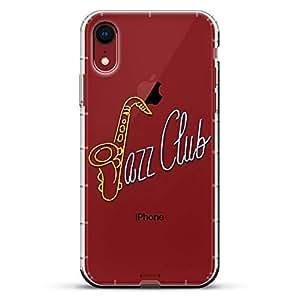 Luxendary Air 系列透明硅胶外壳LUX-I9AIR-JAZZ1 Neon Jazz Club Sign 透明