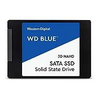 Western Digital 3D NAND 内置固态硬盘 蓝色 4TB