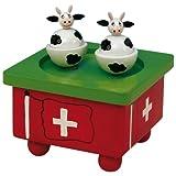 音乐盒世界 43753 瑞士舞牛