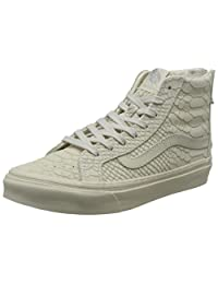 VANS 范斯 硫化鞋 女 板鞋SK8-Hi Slim Zip DX VN0A348SLQC05500M 白色 37 (US 5.5)