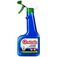Mistolin 水垢清洁剂 浴室玻璃不锈钢清洁去污剂 花洒水龙头除垢剂545ml(进口)(亚马逊自营商品, 由供应商配送)