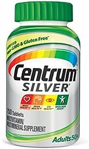 Centrum Silver 善存 50 岁以上成人复合维生素/多种矿物质补充剂, 维生素 D3