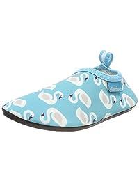 Playshoes 女孩 Uv 保护 赤脚天鹅 Aqua 鞋
