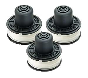 Black & Decker RS-136 细绳修剪器替换线轴(3 件装)