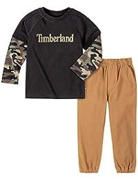 Timberland 男孩款上衣长裤小两件套