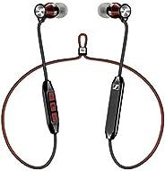 Sennheiser 森海塞爾 Momentum Free SE特別版藍牙4.2耳機,Qualcomm apt-X低延遲,紅色和黑色