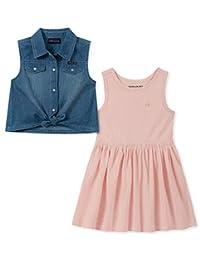 Calvin Klein 女童 2 件套连衣裙套装