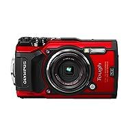 OLYMPUS 1200万像素 TG-5 防水照相机 带3英寸液晶屏幕 黑色 (V104190BU000)