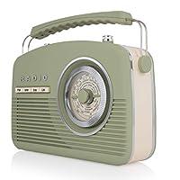 Akai Portable Band Retro FM 收音机A60010VSG FM 14 W