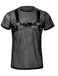 Svenjoyment 内衣 21610281731 SVENJOYMENT 男式胸背衬衣 黑色-XL 码(Nero 001),XL 码
