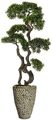 复古家乡阳光岛人造树 Pebble Rock 58.5 VHX140209