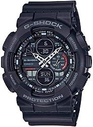 CASIO Herren Analog – Digital Quarz Uhr mit Resin Armband