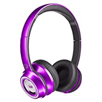 Monster 魔声 Nick Cannon Ntune 灵动 头戴式耳机糖果系列-紫色