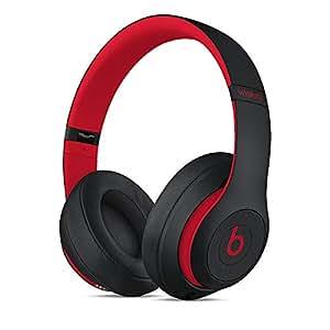 Beats Studio3 Wireless 录音师无线3代 头戴式 蓝牙无线降噪耳机 游戏耳机 - 桀骜黑红 (十周年版 Beats Decade Collection) 带麦克风可通话 MRQ82PA/A