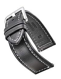 STUNNING SELECTION 皮革 黑色 330-1-1-20 表带