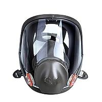 3M 6800 全面型防护面罩 防毒面具 防酸面罩(中号) 用于气体及蒸气防护 1个(亚马逊自营商品 由供应商配送)