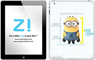 Zing Revolution Despicable Me 2 - Minion Math Tablet Cover Skin for iPad 4/3 (MS-DMT160351)