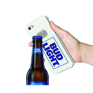 Bud Light Bottle Opener Cell Phone Case for Apple iPhone 6/6s - White