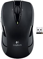 Logitech罗技 无线鼠标M545(经典M525升级版:增加拇指按键,pico超微接收器,全面支持WIN8系统) (黑色)