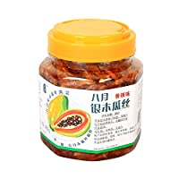 八月 银木瓜丝酱菜(香辣)480g*2(亚马逊自营商品, 由供应商配送)