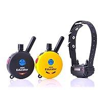 Educator E-Collar Dog Trainer 黄 1/2 Mile 1 Dog 2 Transmitter