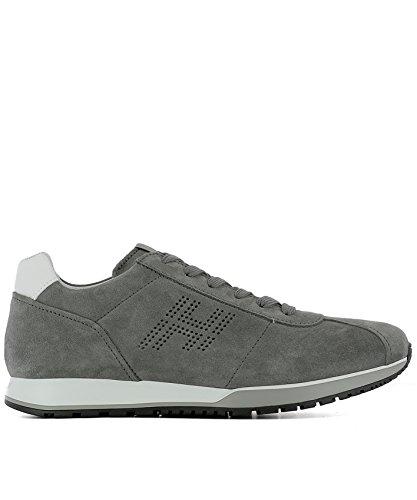 HOGAN HOGAN 男人 HXM3210Y140FKF375C 灰色 山羊皮 运动鞋 / 意大利直邮【亚马逊海外卖家】