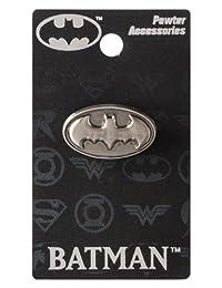 DC 蝙蝠侠徽标锡翻领别针