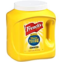 French's Classic Yellow Mustard, 105 Ounce (Pack of 4)
