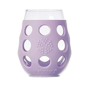 Lifefactory 325ml 酒杯(2只装)310007(浅紫色)