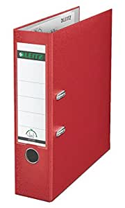 LEITZ 利市 标准 商务档案夹 80mm 红 10105025